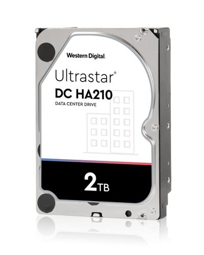 Disco Rígido Western Digital UltraStar DC HA210 2TB 3.5´ 128MB