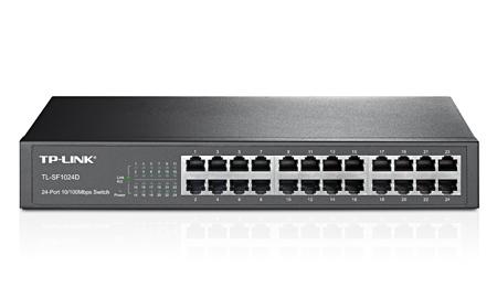 Switch de mesa TP-Link 24 portas 10-100 - TL-SF1024D