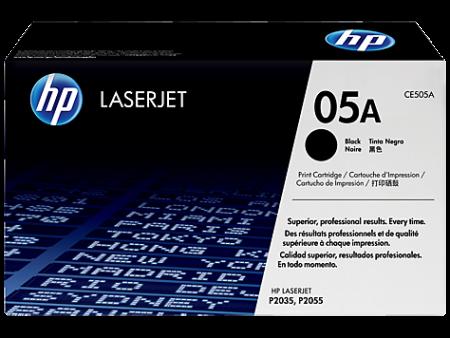 Toner HP LaserJet Original 05A Preto (CE505A)