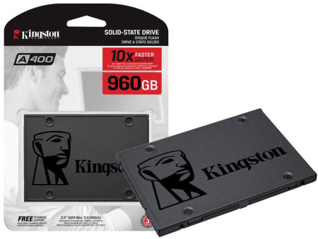 Disco SSD Kingston 2.5´ 960GB A400 SATA III (SA400S37/960G)