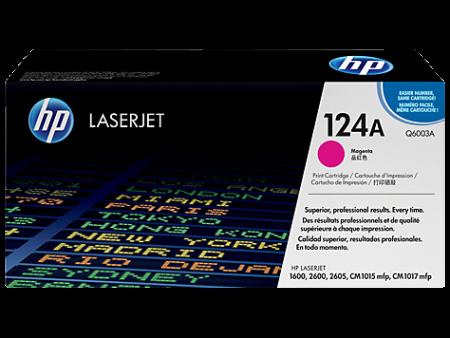 Toner HP LaserJet Original 124A Magenta (Q6003A)