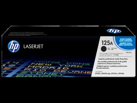 Toner HP LaserJet Original 125A Preto (CB540A)