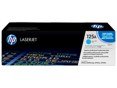 Toner HP LaserJet Original 125A Azul (CB541A)