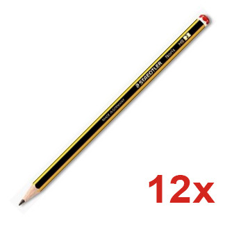 Lápis Carvão Nº4-2H Noris 120-4 4Office - Pack 12