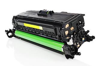 Toner HP 307A Compatível CE742A - Amarelo