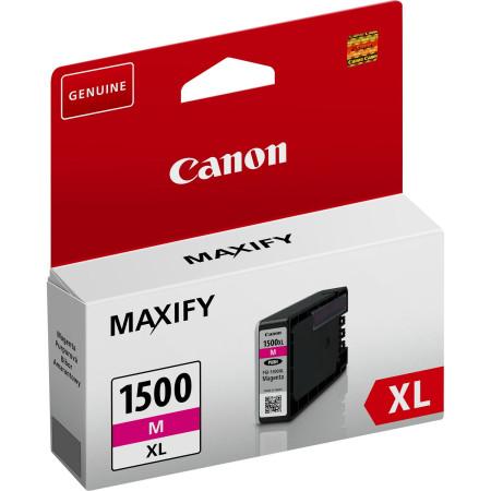 Tinteiro Canon Maxify PGI-1500 XL Magenta Original (9194B001)