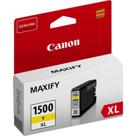 Tinteiro Canon Maxify PGI-1500 XL Amarelo Original (9195B001)