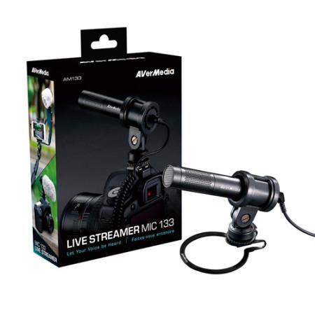 Microfone AVerMedia Live Streamer Mic 133
