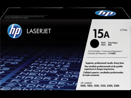 Toner HP LaserJet Original 15A Preto (C7115A)