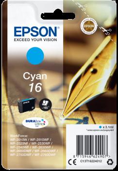 Tinteiro Epson 16 Azul Original Série Caneta e Palavras Cruzadas (C13T16224012)