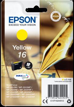 Tinteiro Epson 16 Amarelo Original Série Caneta e Palavras Cruzadas (C13T16244012)
