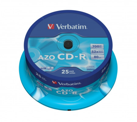 CD-R Verbatim 52X - Pack 25   - ONBIT