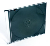 Caixa CD/DVD Slim Mediarange 5.2mm - Pack 100   - ONBIT