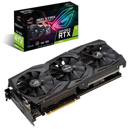 Placa Gráfica Asus STRIX GeForce RTX 2060 6GB (ROG-STRIX-RTX2060-O6G-EVO-GAMING)
