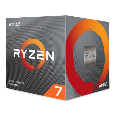 Processador AMD Ryzen 7 3700X Octa-Core 3.6GHz c/ Turbo 4.4GHz 36MB Skt AM4