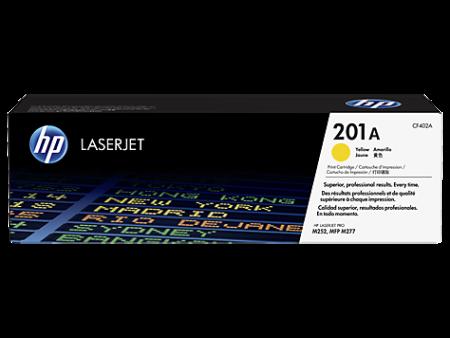 Toner HP LaserJet Original 201A Amarelo (CF402A)