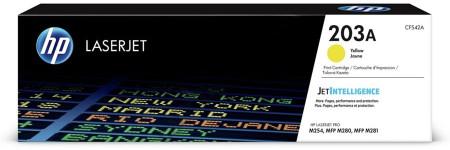 Toner HP LaserJet Original 203A Amarelo (CF542A)