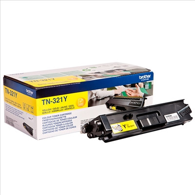 Toner Brother Original TN-321Y Amarelo