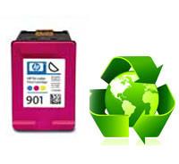 Tinteiro HP Reciclado Nº 901 XL tricolor (cc656ee)   - ONBIT