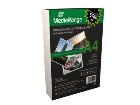 Papel Fotográfico A4 130g MATTE MediaRange (100 folhas)   - ONBIT