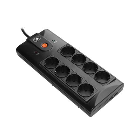 Régua 1Life sps:socket 8 Tomadas c/ USB