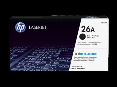 Toner HP LaserJet Original 26A Preto (CF226A)