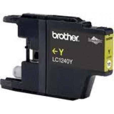 Tinteiro Brother Compatível LC1220 / LC1240Y Amarelo   - ONBIT