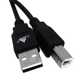 Cabo USB para Impressora (A-B) 3 metros Gembird Cablexpert  CCP-USB2-AMBM-10 - ONBIT