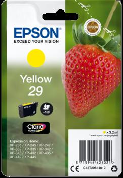 Tinteiro Epson 29 Amarelo Original Série Morango (C13T29844012)