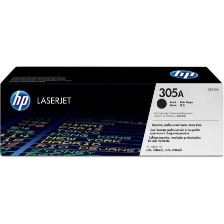 Toner HP LaserJet Original 305A Preto (CE410A)