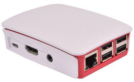 Caixa para Raspberry Pi 3 Oficial Branca