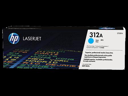Toner HP LaserJet Original 312A Azul (CF381A)