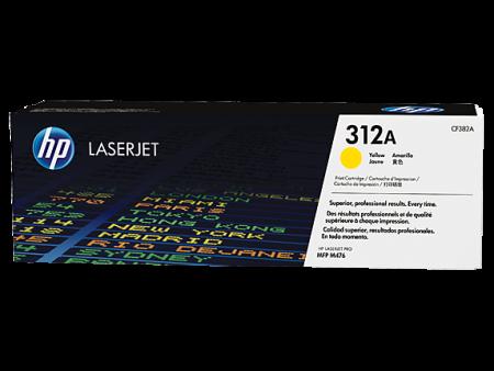 Toner HP LaserJet Original 312A Amarelo (CF382A)