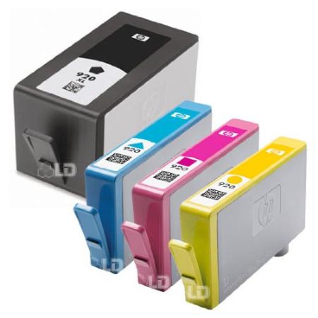 Pack 4 HP 920XL Compatível   - ONBIT