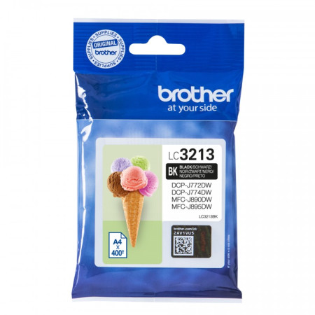 Tinteiro Brother Original LC3213BK Preto