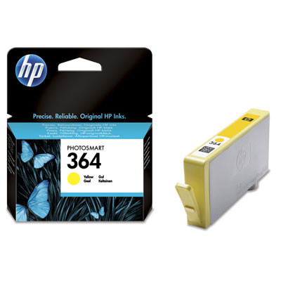 Tinteiro HP 364 Original Amarelo (CB320EE)   - ONBIT