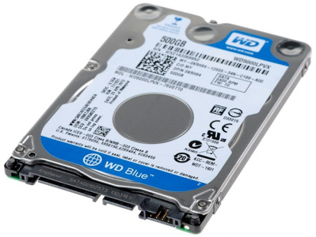 Disco Rígido Western Digital Black 500GB 2,5´ 5400RPM 8MB (WD5000LPLX)  WD5000LPLX - ONBIT