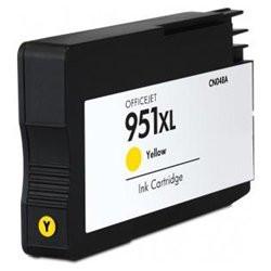 Tinteiro HP Compatível 951 XL V4 amarelo (CN048AE)   - ONBIT