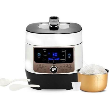 Robot de Cozinha / Panela de Pressão Multiusos 6L 1000W Aigostar