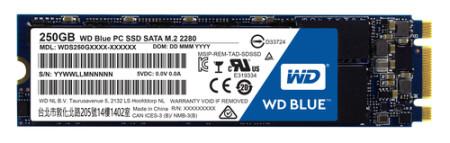 Disco SSD Western Digital Blue M.2 - 250GB  WDS250G1B0B - ONBIT