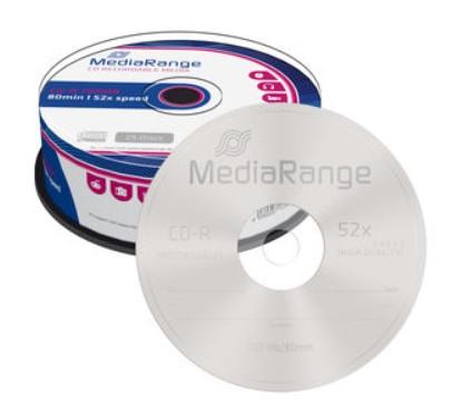 CD-R Mediarange 52x - Pack 25   - ONBIT