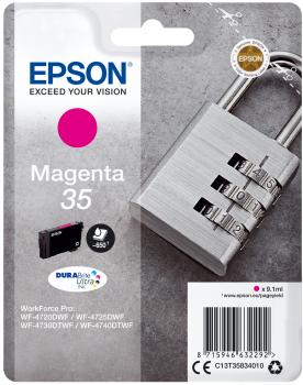 Tinteiro Epson 35 Magenta Original Série Cadeado (C13T35834010)
