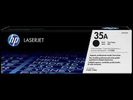 Toner HP LaserJet Original 35A Preto (CB435A)