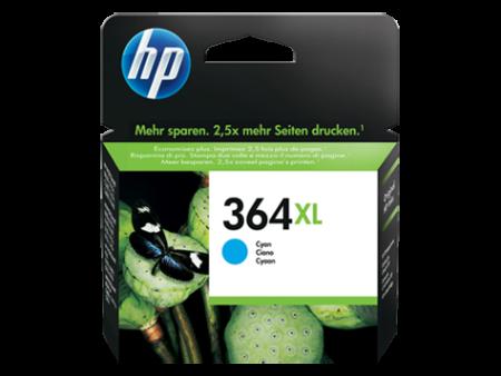Tinteiro HP 364 XL Original Azul (CB323EE)