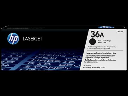 Toner HP LaserJet Original 36A Preto (CB436A)
