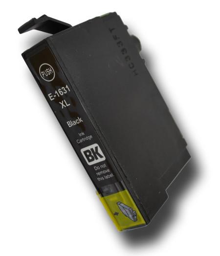 Tinteiro Compatível Epson 16 XL, T1631 preto   - ONBIT
