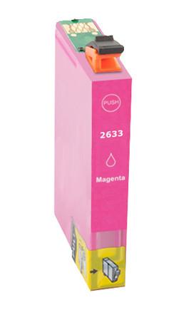 Tinteiro Compatível Epson 26 XL, T2633 magenta   - ONBIT