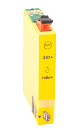 Tinteiro Compatível Epson 26 XL, T2634 amarelo   - ONBIT