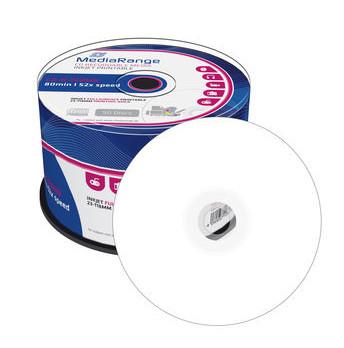 CD-R MediaRange Imprimível 52X - Pack 50