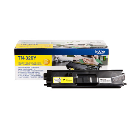 Toner Brother Original TN-326Y Amarelo